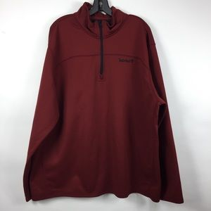Timberland Mens 3XL Pullover 1/4 Zip Sweatshirt